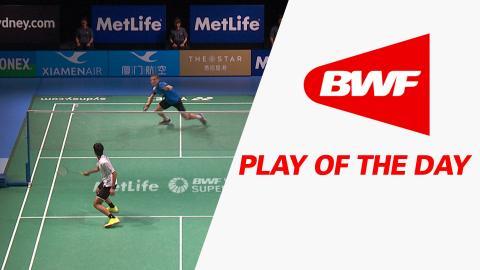 Play Of The Day | Badminton SF – XIAMENAIR Australian Badminton Open 2016