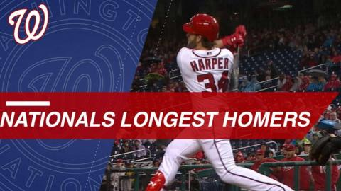 Statcast: Nationals' longest HRs