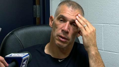 NYY@CLE: Giardi on losing 16-inning game to Indians