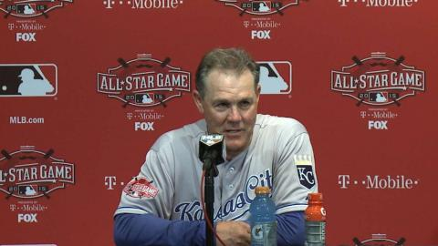 2015 ASG: Yost on lineup, managing roster in 6-3 win