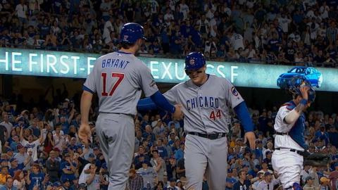 NLCS Gm4: Cubs put up a five runs in the 6th