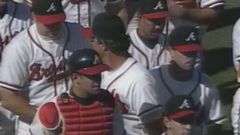 MON@ATL: Braves get final out, clinch 1996 NL East
