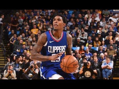 Lou Williams Scores Clippers Record 27 Pts in 3rd Quarter | January 10, 2018