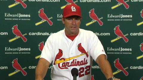 COL@STL: Matheny talks about Martinez, run support