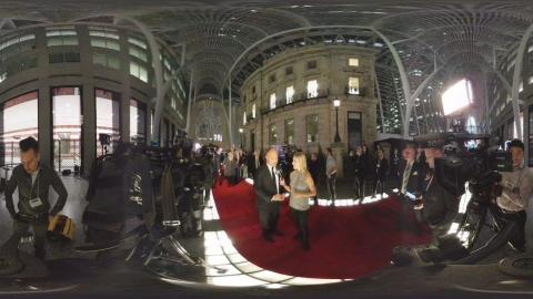 A 360 look on the Red Carpet with Sakic and Domi