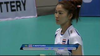 Thailand - China: China International Women's Volleyball Tournament: 29.6.2014