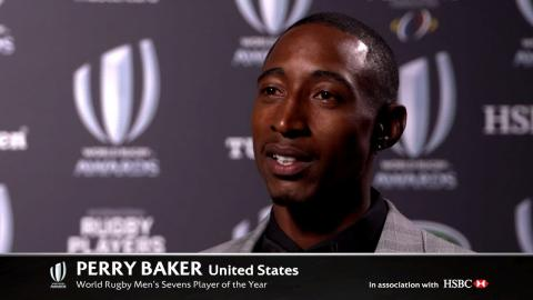 REACTION: Perry Baker wins World Rugby Sevens Player of the Year 2017