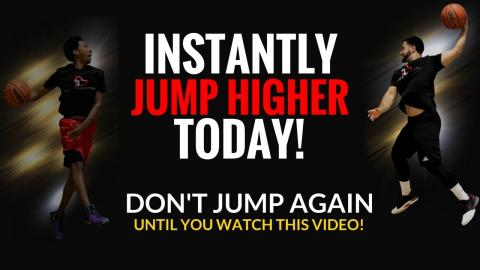 Jump Higher Instantly (WITHOUT WEIGHTS!) - Increase Vertical Jump