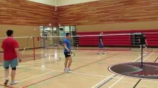 Evergreen Badminton Club's Game Of The Week