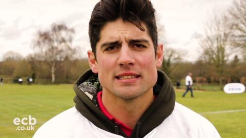 Making a difference: Alastair Cook on NatWest CricketForce volunteers
