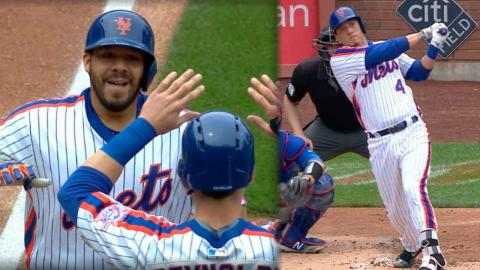 CHC@NYM: Mets pile on seven runs in the 2nd inning