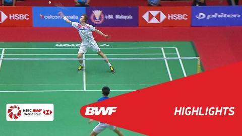 Perodua Malaysia Masters 2018 | Badminton MS - SF - Highlights | BWF 2018