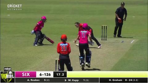 Perth Scorchers v Sydney Sixers, WBBL|03
