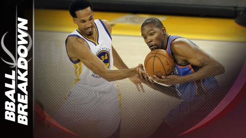 Thunder At Warriors Game 2: Kevin Durant Shut Down In 3rd