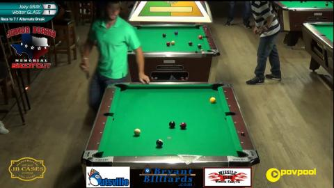 #5 Joey GRAY vs Walter GLASS • 2017 Junior Norris 10-Ball