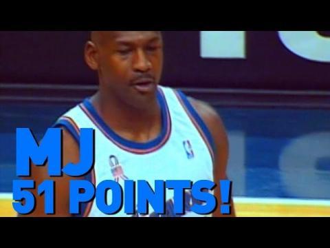 Michael Jordan Scores 51 Points At Age 38 | 12.29.2001