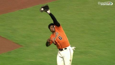 ARI@SF: Byrd makes a nice over-the-shoulder grab
