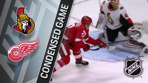 01/03/18 Condensed Game: Senators @ Red Wings