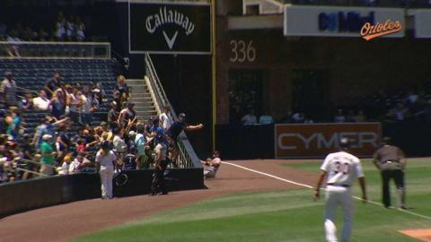BAL@SD: Fan interference out call confirmed in 4th