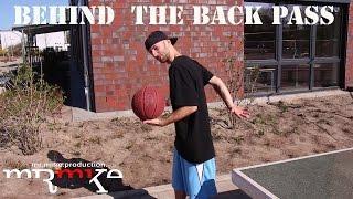 Der Pass Hinter Dem Rücken - Wall Training - BASKETBALL