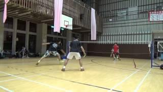 20150503FUMA Badminton Club MD HUNTER+Yu Tsz Lee Vs致廷+張逢嘉