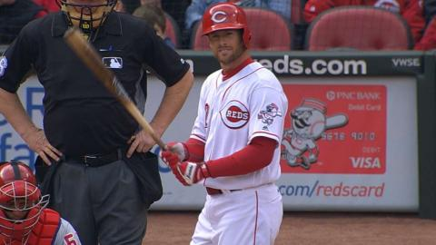 PHI@CIN: Cozart collects three hits, one RBI in win