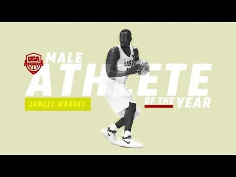 USA Basketball Male Athlete of the Year - Jameel Warney