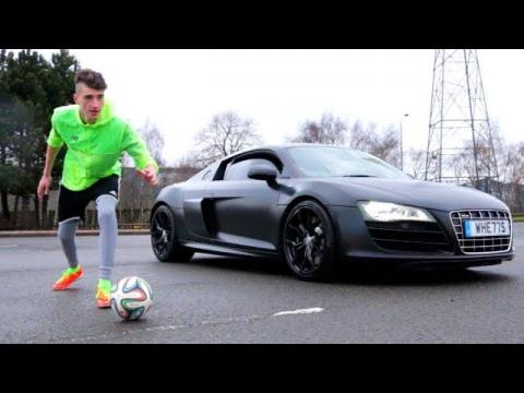 MAN vs MACHINE | FOOTBALL BATTLE!! (Race VS Supercar)