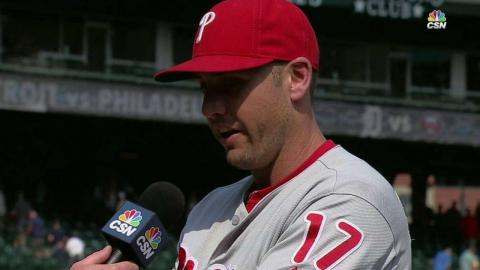 PHI@DET: Bourjos on first home run of the year, win