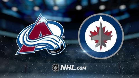 Wheeler, Scheifele lead Jets to 6-1 win against Avs