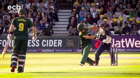 #Blast16 QF highlights: Notts Outlaws v Essex Eagles