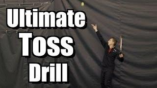 Ultimate Toss Drill - Serve Toss Tennis Lesson - Instruction Drill