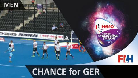 GER 2-3 IND Germany awarded a late penalty stroke #HCT2016