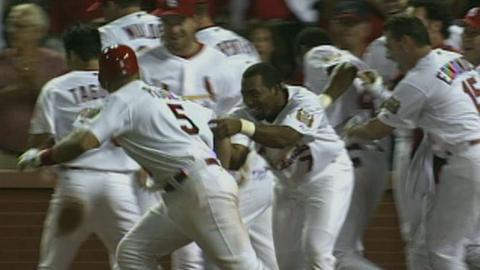 LAD@STL: Pujols hits walk-off homer in the 14th