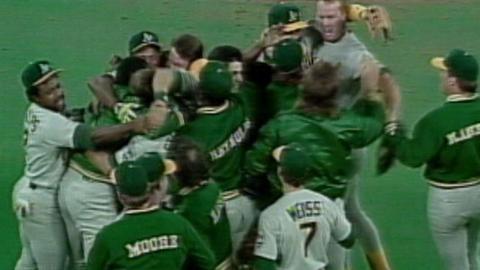 1989 ALCS Gm5: Athletics win pennant