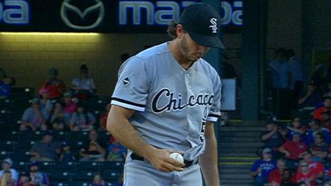 CWS@TEX: Gonzalez tosses 5 2/3, strikes out four