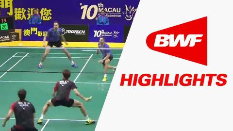 2015 Macau Open | Badminton SF – Highlights
