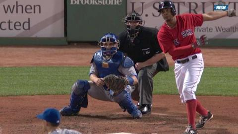 TOR@BOS: Bogaerts singles to right, drives in Swihart