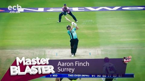 Aaron Finch Master Blaster