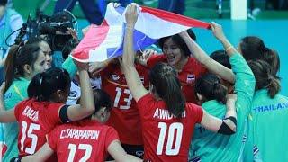 Bronze Medal Match : Asian Games 2014 Volleyball Women : Thailand VS Japan : 02-10-14