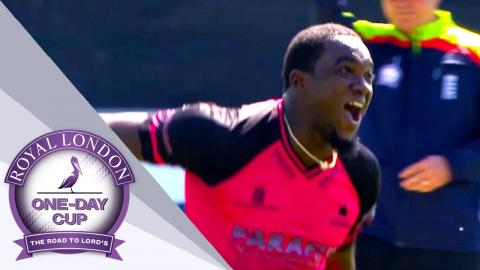 Jerome Taylor Takes Hat-Trick in Sussex vs Essex - Royal London One-Day Cup