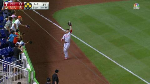 PHI@MIA: Gonzalez retires Ichiro to end the threat