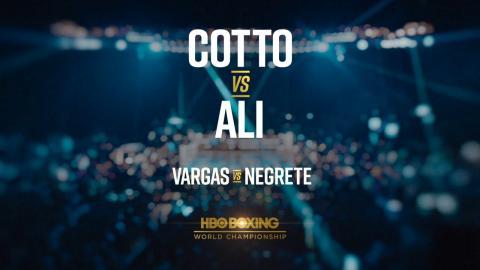 Cotto vs. Ali Preview