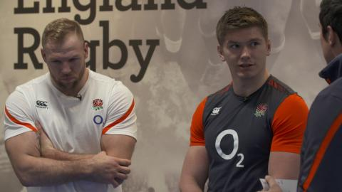 O2 Inside Line: James Haskell and Owen Farrell