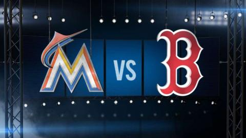 7/8/15: Red Sox break out the bats to sweep Marlins
