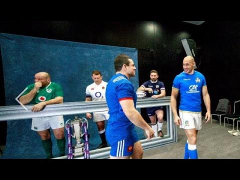 Behind The Scenes: NatWest 6 Nations Launch 2018 | NatWest 6 Nations