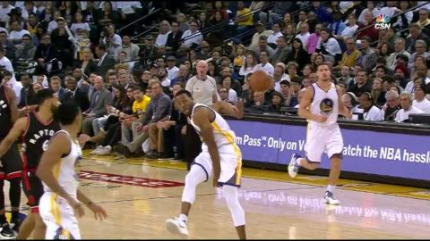 Iguodala Oop to Livingston...If Only It Counted |12.28.16