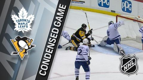 02/17/18 Condensed Game: Maple Leafs @ Penguins