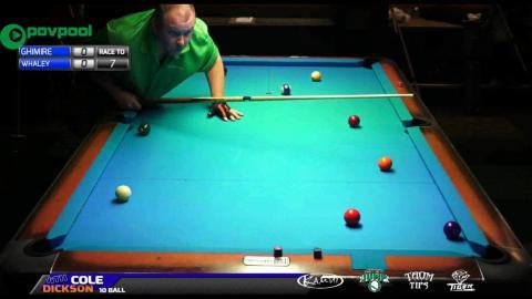 #10 • GHIMIRE vs Doug WHALEY • 2016 Cole Dickson 10 Ball