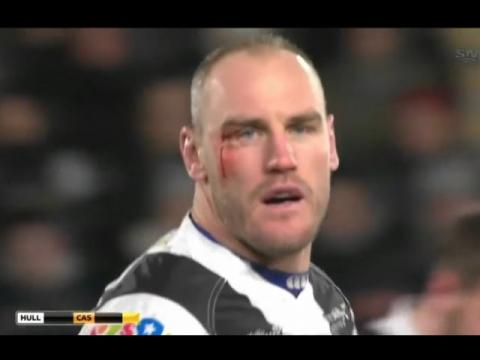 Hull FC vs Castleford Tigers rugby league full match 25.02.16 | Super League rugby 2016